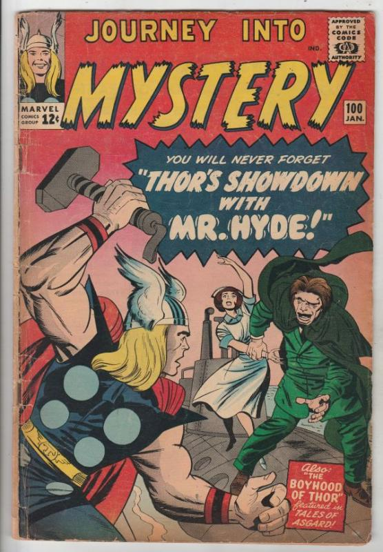 Journey into Mystery #100 (Jan-64) VG+ Affordable-Grade Thor