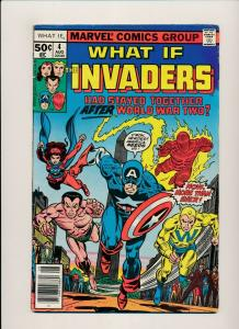 Marvel What If CAPTAIN AMERICA hadn't vanished during WWII! #5 1977 VG (PF529)