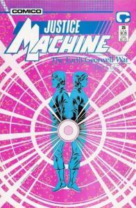 Justice Machine (1987 series) #23, NM + (Stock photo)