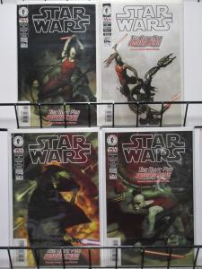 STAR WARS(Dark Horse,1998) #28-31 VF-NM The Hunt for Aurra Sing 1-4 Complete!
