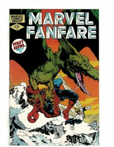 12 Marvel Fanfare Marvel Comics # 1 2 4 5 6 7 8 9 10 11 12 13 Spider-Man HG1