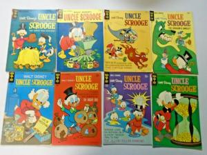Uncle Scrooge lot 15 different books VG condition (silver + bronze age eras)