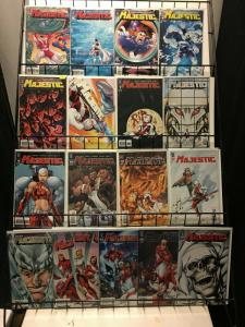 MAJESTIC (2005 WS) 1-17 complete - bagged & boarded !