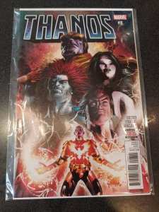 Thanos #8 Deodato art nm