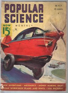 Popular Science 5/1937-Wittmack cover-giant movie sets-G
