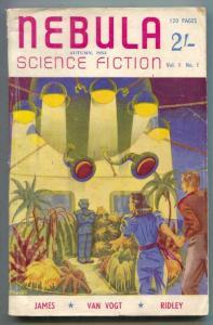 Nebula #1 1949- British Science Fiction pulp- AE Van Vogt