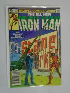 Iron Man #173 Newsstand edition 6.0 FN (1983 1st Series)