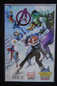 Avengers #1, Midtown Comics Variant, Rare!