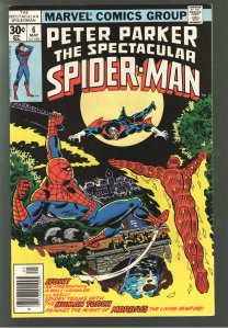 PETER PARKER SPECTACULAR SPIDERMAN 6  VFNM 9.0 EARLY MORBIUS