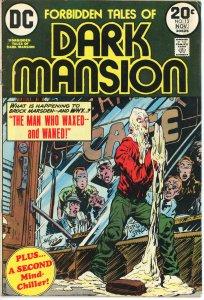 Forbidden Tales of the Dark Mansion 13  VG  1973
