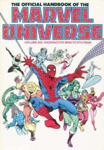 Official Handbook of the Marvel Universe (1985 series) Trade Paperback #6, NM...