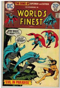 WORLDS FINEST 222 VG- April 1974