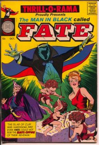 Thrill-O-Rama #1 1965-Harvey-1st issue-Man in Black Called Fate-Powell-VF-