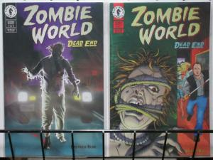 ZOMBIE WORLD DEAD END (1998 DH) 1-2  complete series!