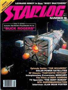 Starlog Magazine #16, Fine (Stock photo)
