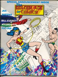 Golden Age Of Comics #8 2/1984- 2nd #8 issue-Wonder Woman-Sheena-Jerry Bails-VF