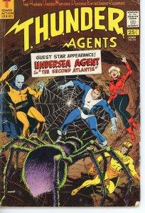 THUNDER Agents 13  G/VG  1967