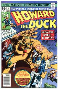 HOWARD THE DUCK #7, NM-, Gerber, Gene Colan, Cookie monster, 1976, Bronze age
