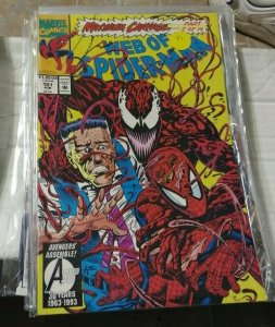 Web of spider-man # 101  1993 marvel  MAXIMUM CARNAGE PT 2  VENOM DEMONGOBLIN