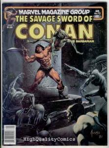 SAVAGE SWORD of CONAN #72, FN+,Buscema, Joe Jusko, Ernie Chan,more SSOC in store