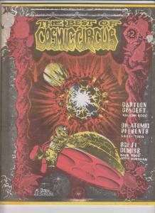 Best of Cosmic Circus #1 VF- vaughn bode - mark bode - jimi hendrix - dr. atomic