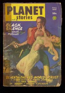 PLANET STORIES PULP-FALL 1947-FICTION HOUSE-GOOD GIRL A G