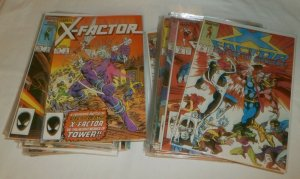X-Factor V1 #2-59 missing 6 iss. Simonson Inferno Fall Mutants comics lot of 58