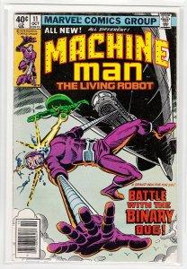 MACHINE MAN (1978 MARVEL) #11 VG -04307