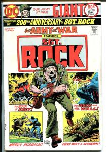 Our Army at War #280 1975-DC 200th Anniversary of Sgt Rock-Kubert-VG/FN