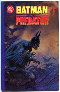 BATMAN vs PREDATOR #1, NM+, Prestige, Arther Suydam,1991, Adam Kubert