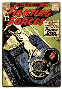 OUR FIGHTING FORCES #63-comic book 1960-DC-SILVER AGE-POOCH COVER-GUNNER & SARGE
