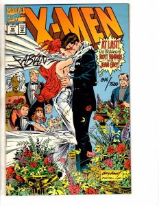 X-Men # 30 NM Marvel Comic Book SIGNED With COA By Fabian Nicieza Wedding J274