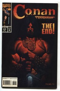 CONAN THE BARBARIAN #275 1993-MARVEL-HTF-LAST ISSUE