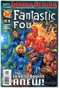 FANTASTIC FOUR #1 2 3 4 5 6 7 8 9-70, VF/NM to NM, 1998, more in store,QXT, 1-70