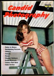 Candid Photography #405-Fawcett-cheesecake-glamour-pin-up pix-VG