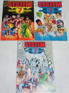 SYSTEM SEVEN (AR) 1-3 THE SET!