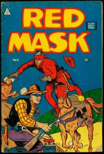 Red Mask #2 IW reprint- Tim Holt Western comic VG-