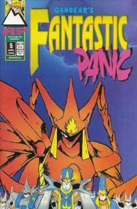 Fantastic Panic #5 VF/NM; Antarctic   save on shipping - details inside