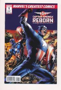 MGC Captain America REBORN #1 Marvel Greatest ~ Marvel Comics 2011 ~ NM (HX569)