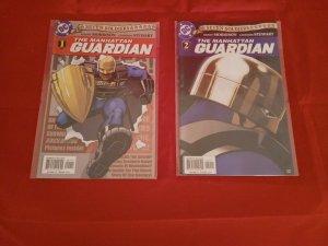SEVEN SOLDIERS: THE MANHATTAN GUARDIAN #1, 2, DC COMICS 2005 NM