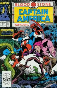 Captain America (1st Series) #361 VF/NM; Marvel | save on shipping - details ins