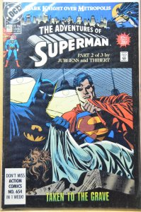 Adventures of Superman #467 (1990) VF+
