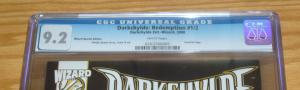 Darkchylde: Redemption #1/2 CGC 9.2 dynamic forces blue foil variant COA half ½