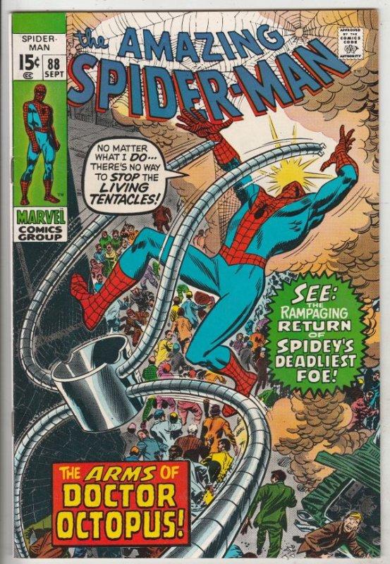 Amazing Spider-Man #88 (Sep-70) NM- High-Grade Spider-Man