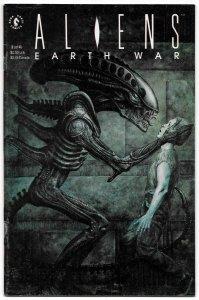 Aliens Earth War #2 (Dark Horse, 1990) FN