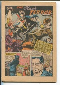Exciting #50 1946-Nedor-American eagle-Black Terror-Crime Crushers-P/FR