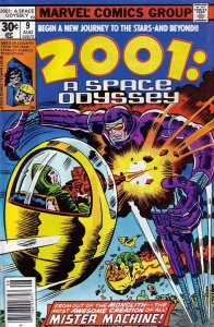 2001, A Space Odyssey #9 VG; Marvel | low grade comic - save on shipping - detai