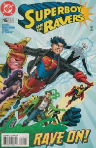 Superboy And the Ravers #15 VF/NM; DC   save on shipping - details inside