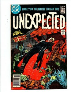 Unexpected #208 newsstand - DC Horror - 1981 - Very Good/Fine