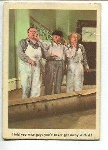 Three Stooges Trading Card #8 1959-Fleer